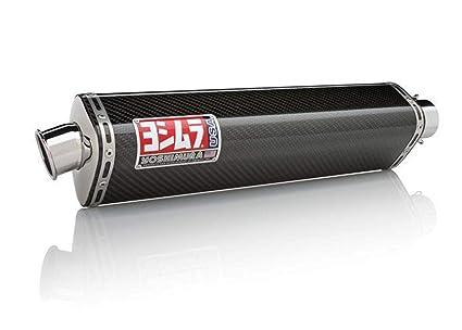 Amazon.com: Yoshimura TRS Tri-Oval Carbon Fiber Slip-On ...