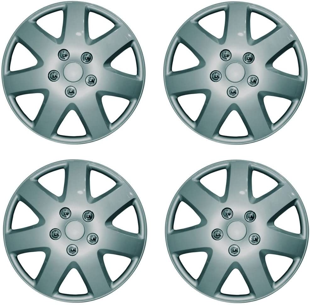 Valve Caps /& Ties wlw Wheel Trims Set 15 VAUXHALL MERIVA 03- Covers 4