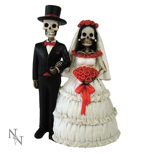 Nemesis Now Eternally Yours 13cm Gothic Fantasy Wedding Gift Bride Groom