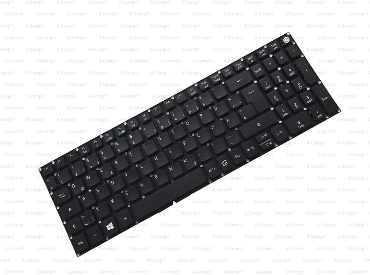 X-Comp - Teclado para Acer Aspire E5-774 E5-532 E5-574 E5-774 ...