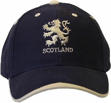 Gorra con Símbolo león Escocia Bordado - Verano/Playa/Piscina ...
