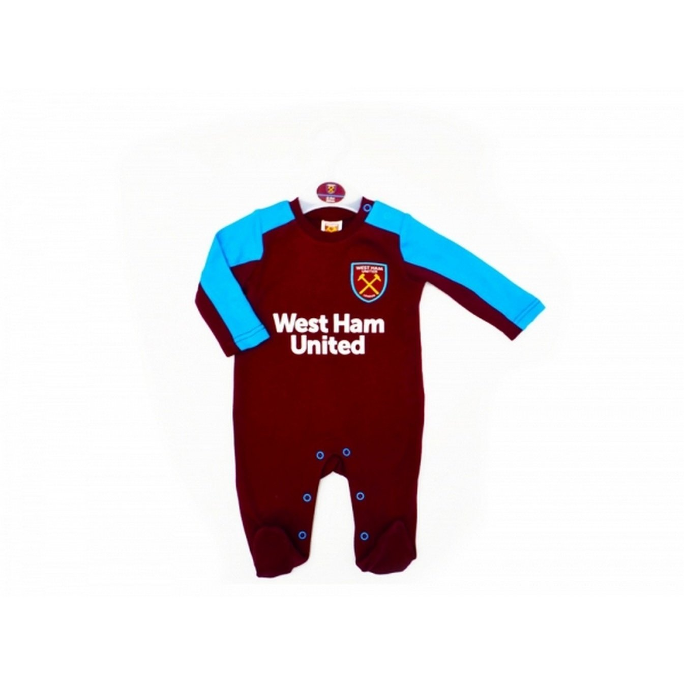 West Ham United Baby Sleepsuit 2017 / 18 B076KRCFZS9 12 Months