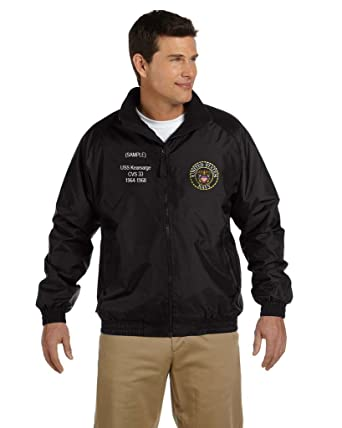 048f3a64 US Navy Personalized Custom Embroidered Fleece Jacket at Amazon Men's  Clothing store: