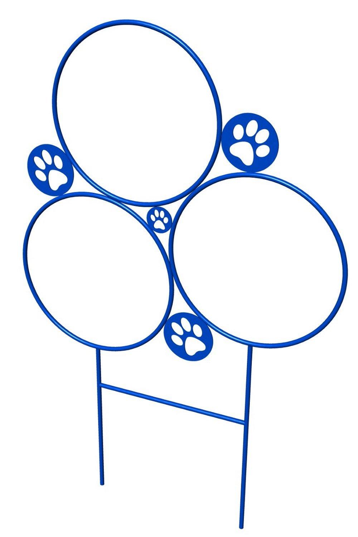 BarkPark Dog Hoop Jump Trainer, Blue by BarkPark