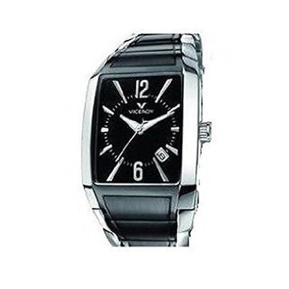 Reloj Viceroy Cab Army Acero bicolor IP negro 47401-99: Amazon.es: Relojes