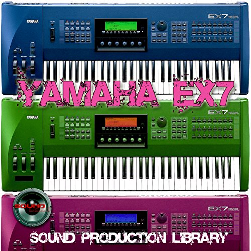 YAMAHA EX7 - the very Best of - unique original Huge 24bit WAVE/Kontakt Multi-Layer Samples Library on DVD or download by SoundLoad