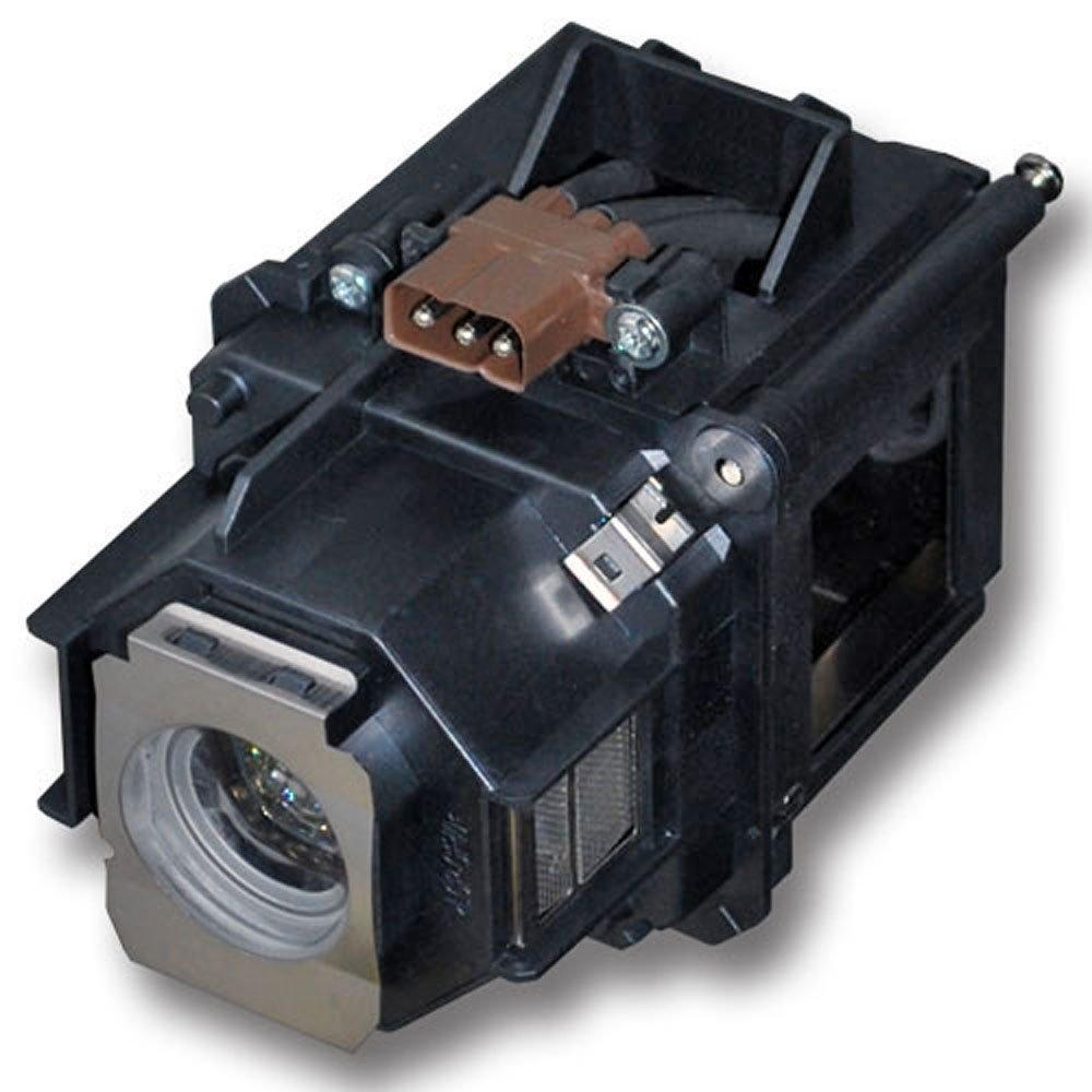 HFY marbull E46 L¨ mpara de Repuesto con Carcasa para EB-G5200 EB-G5350 EB-500KG EB-G5350NL EB-G5250WNL EB-G5300 EB-G5200W PowerLite Pro G5200WNL PowerLite Pro G5350NL proyector