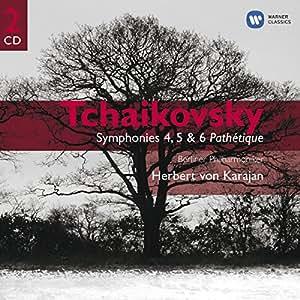 Tchaikovsky: Symphonies 4 5 &