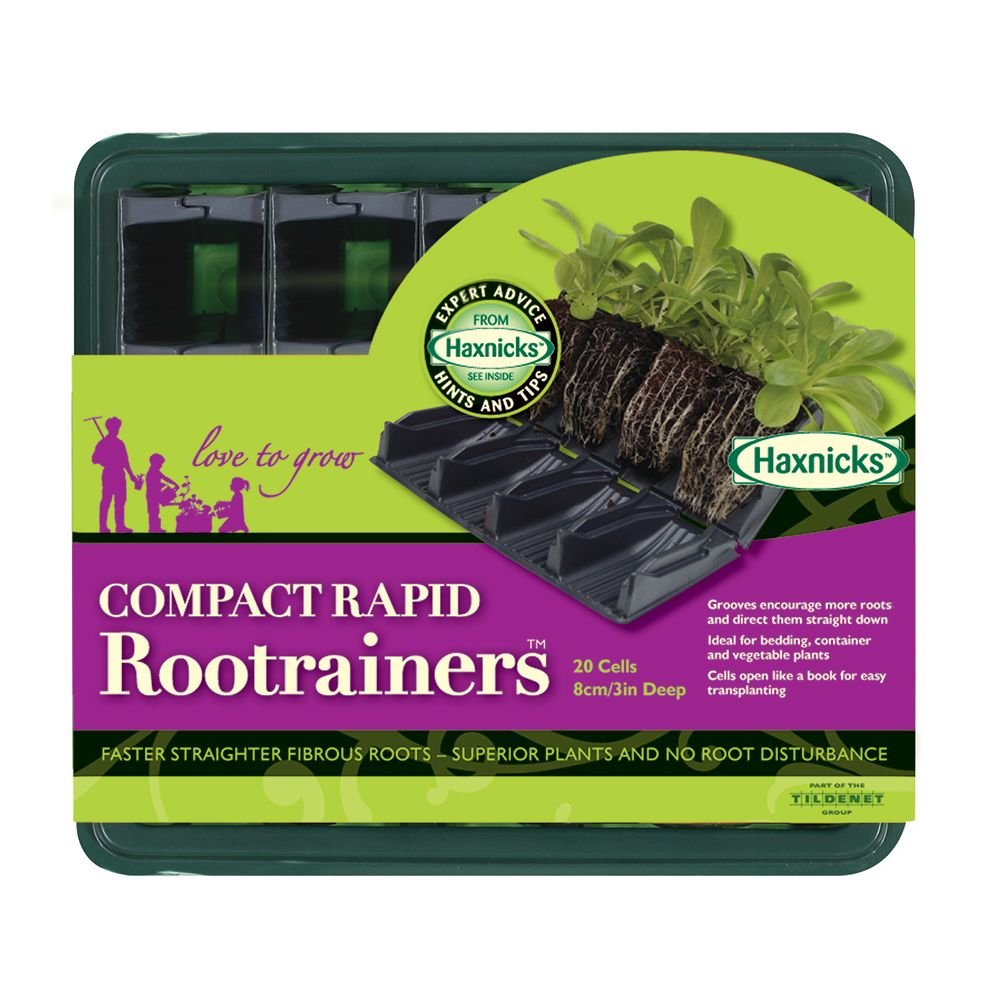 Haxnicks RT040101 Compact Root Trainers, Multi-color, 24x22x9 cm