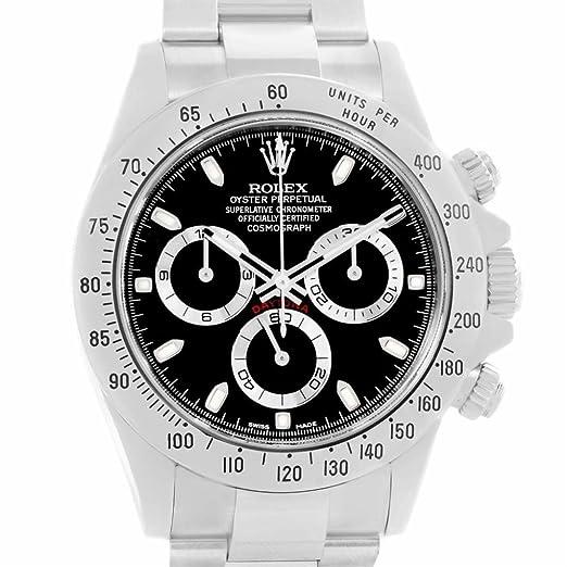 Rolex Daytona 116520 - Reloj automático para hombre (certificado de autenticidad)