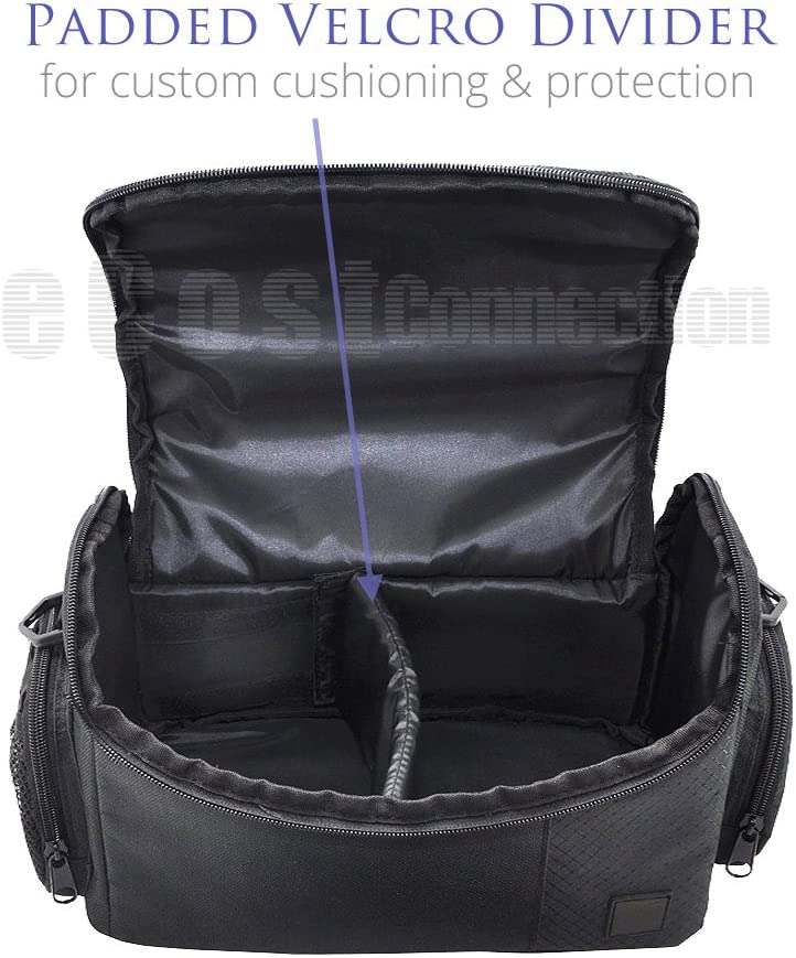 Large Digital Camcorder//Video Padded Carrying Bag//Case For Sony HDR-CX200 HDR-CX260 HDR-CX210 HDR-CX230 Microfiber Cloth HDR-CX290 /& More/… HDR-CX220