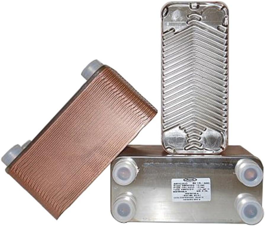 PACETTI - Intercambiador de Calor de 40 Placas en Acero Inoxidable