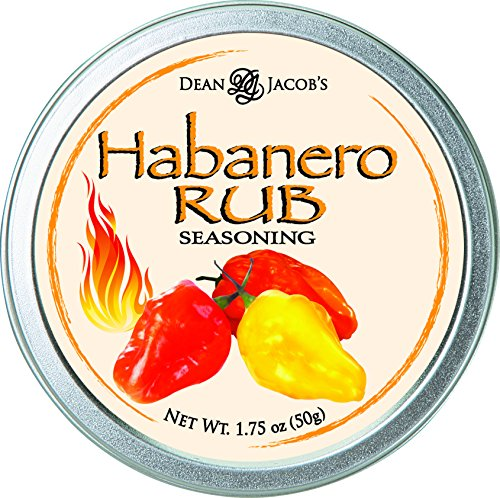 Dean Jacob's Habanero Rub Seasoning Tin