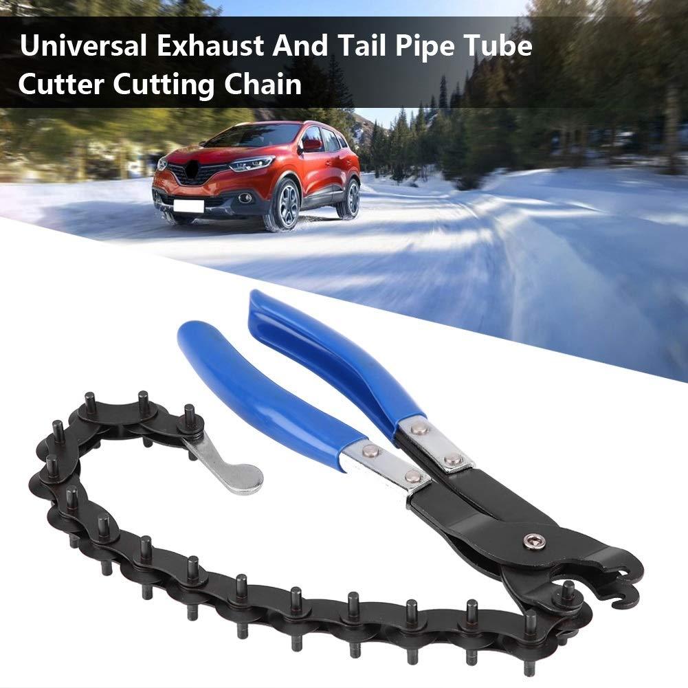 Cortador de tubo de escape-Universal Corte de tubo de escape y tubo de corte Cortador de herramienta Cortador de herramienta
