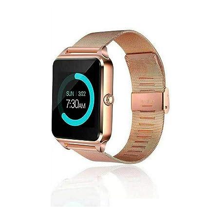 Amazon.com: Luiryare Smart Watch Phone, Stainless Steel ...