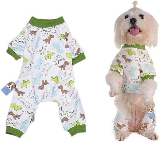 RunkeU Pijama para Perros de compañía, Ropa para Perros de ...