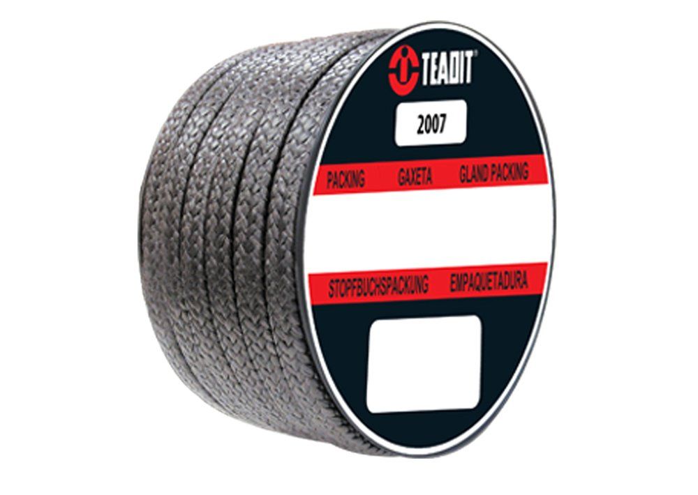 Sterling Seal and Supply Graphite 1//2 CS x 2 lb 2007.500x2 Teadit Style 2007 Braided Packing Spool 1//2 CS x 2 lb Expanded PTFE STCC Spool