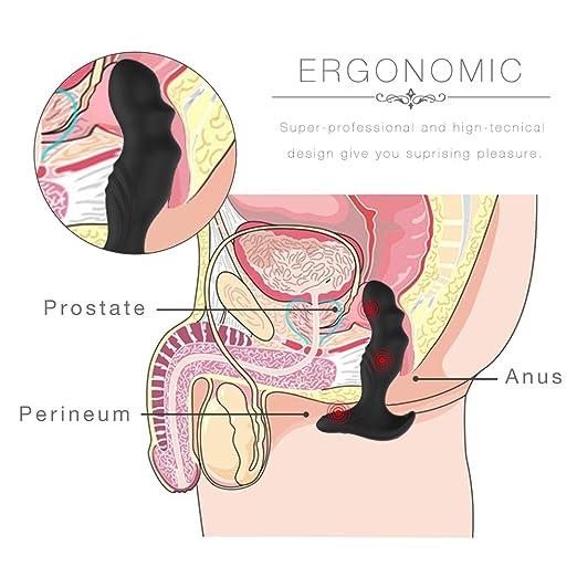 Amazon Remote Controlled Prostate Massager Vibrator Silicone