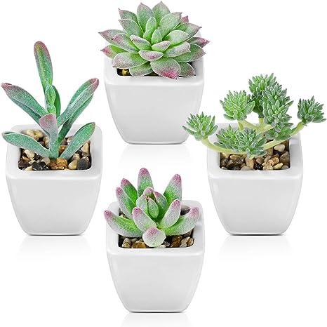textile art Textile Cactus on Ceramic pot|fake succulents|office and home decor