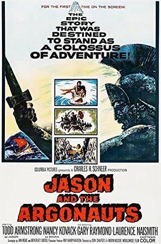 Amazon.com: Jason and The Argonauts - 1963 - Movie Poster: Posters & Prints