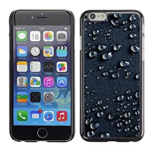 LOVE FOR Apple Iphone 6 Plus 5.5 Water Drops Rain Moisture Droplet Art Surface Personalized Design Custom DIY Case Cover