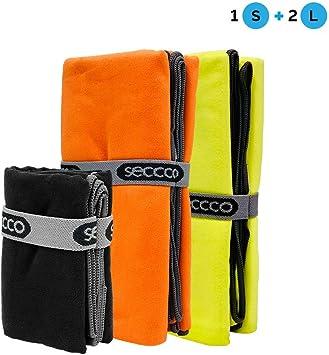 seccco - Toallas de Microfibra (1 Unidad) Super Price Pack Toallas ...