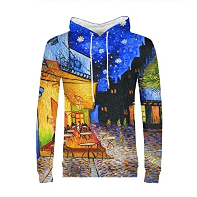 d89ae73bca5e Amazon.com: Etype 3D Print Van Gogh Picasso Art Sweater Pullover ...
