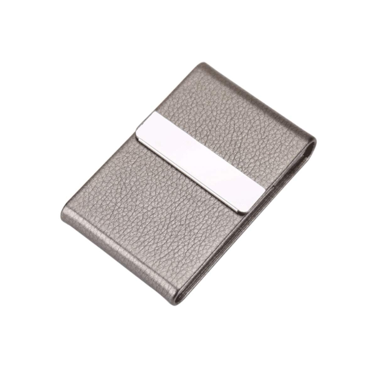 KALMAR Men's Cigarette Case Stainless Metal Personality Classic Flip Cigarette Case Can Hold 7 Cigarettes Cigarette Box Cigar Protective Cover (Color : B)