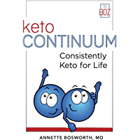 ketoCONTINUUM: Consistently Keto Diet For Life (English Edition)
