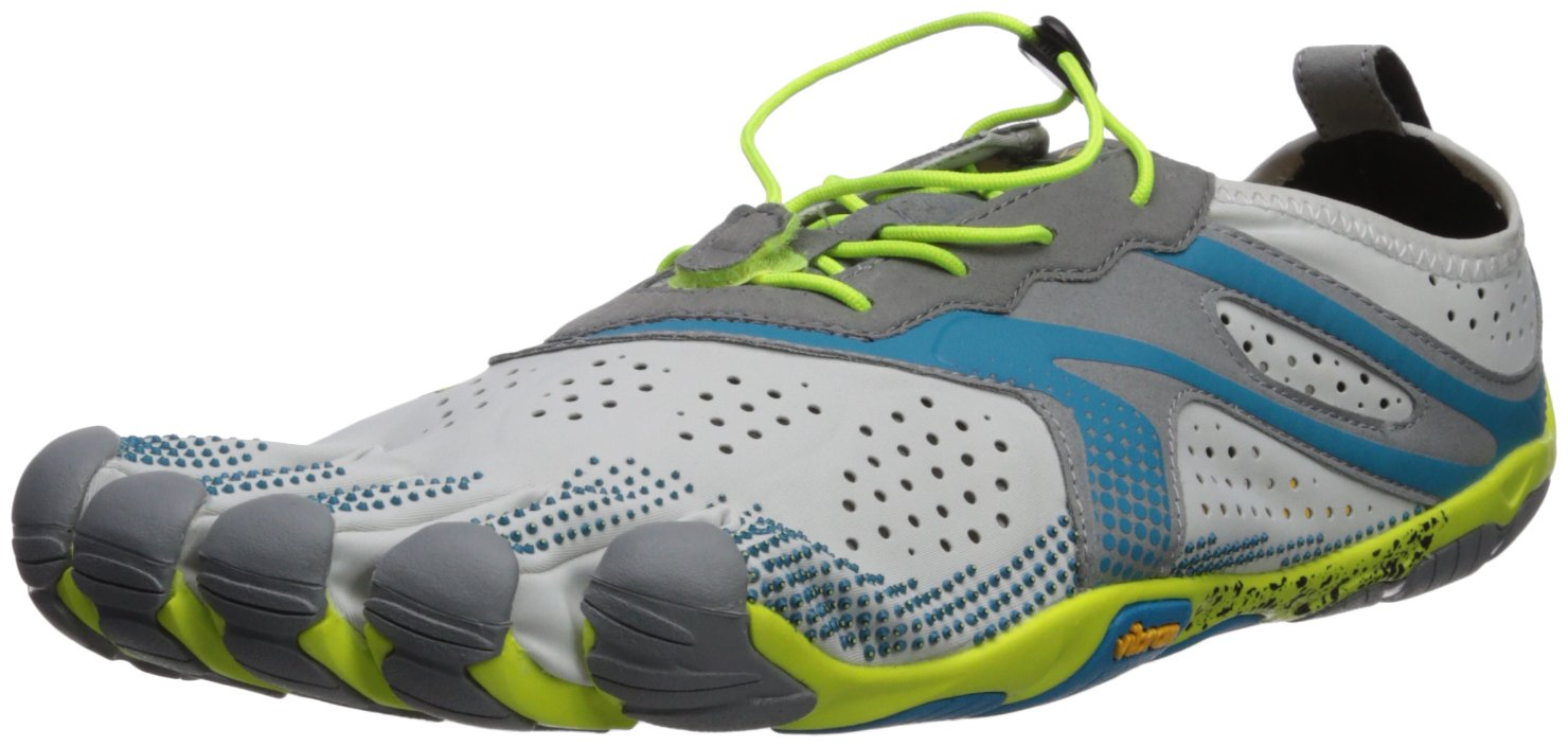 Vibram Men's V Running Shoe, Oyster, 42 EU/9.0-9.5 M US by Vibram