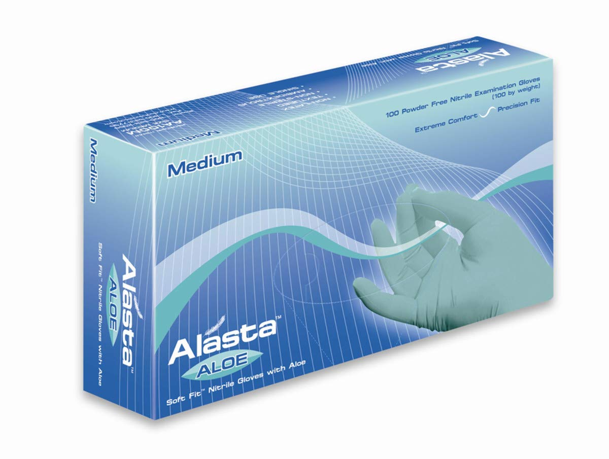 DASH Alasta Nitrile Gloves (XS, Green)
