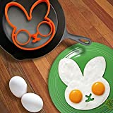 Mold rabbit egg-shaped flat