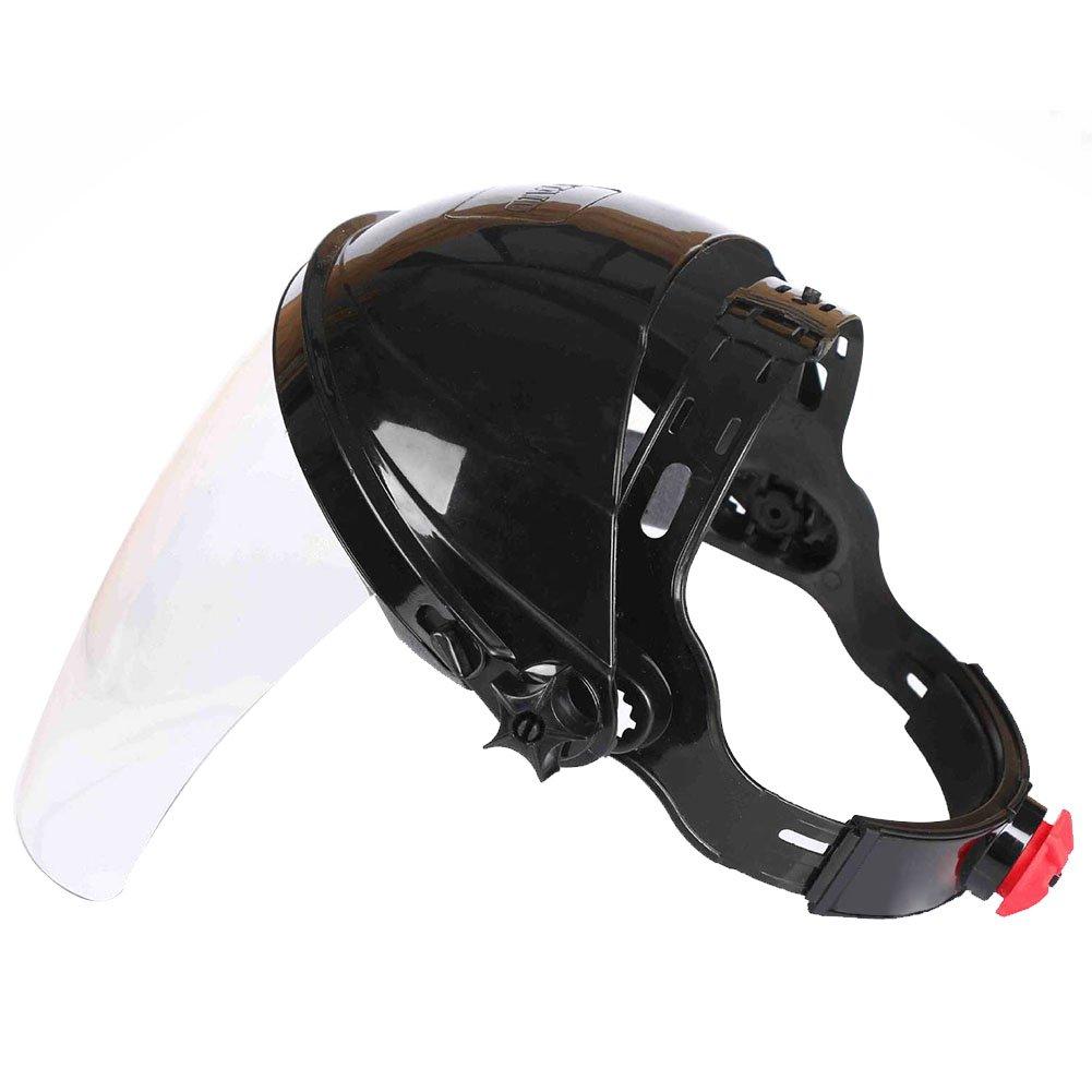 Sicherheitsmaske fü r Schweiß helm, Augenschutz, Gesichtsschutz, transparente Linse, Anti-UV-Schutz, stoß fest, zum Schweiß en, Gasabschirmung, Schweiß en, Schneiden und Schleifen MOOUK