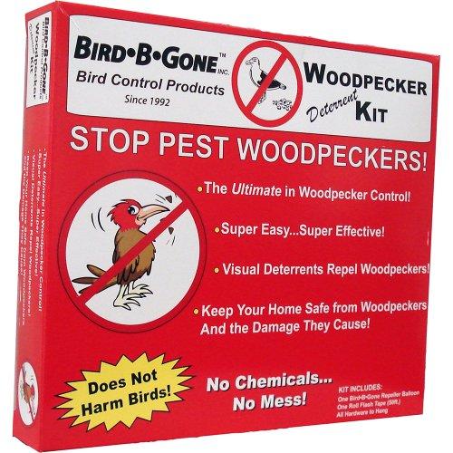 Bird B Gone Woodpecker Deterrent Kit