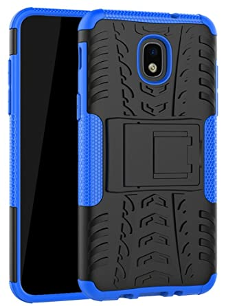 Yiakeng Samsung Galaxy J3 Orbit Case,J3 Star,J3 2018,J3 Achieve,J3 Express Prime 3,Amp Prime 3, Shockproof Protective with Kickstand Phone Cases ...