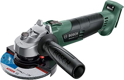 Bosch amoladora angular a batería AdvancedGrind 18 sin batería, sistema de 18V, diámetro de disco 125mm, en caja