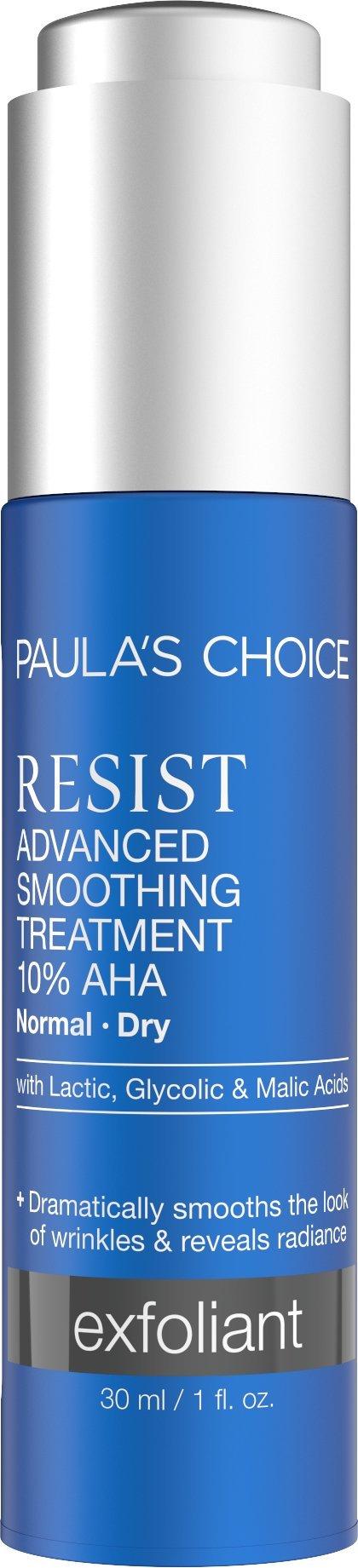 Paula's Choice RESIST Advanced Smoothing Treatment 10% AHA Serum, Glycolic Acid Exfoliator