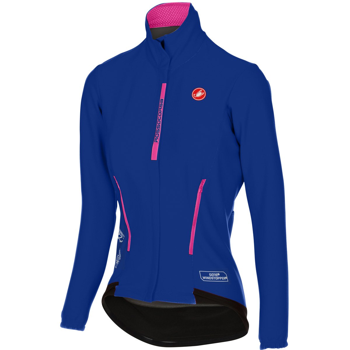 Castelli Perfetto Jersey – Women 's B01LWM5TF1 Large|サーフブルー サーフブルー Large