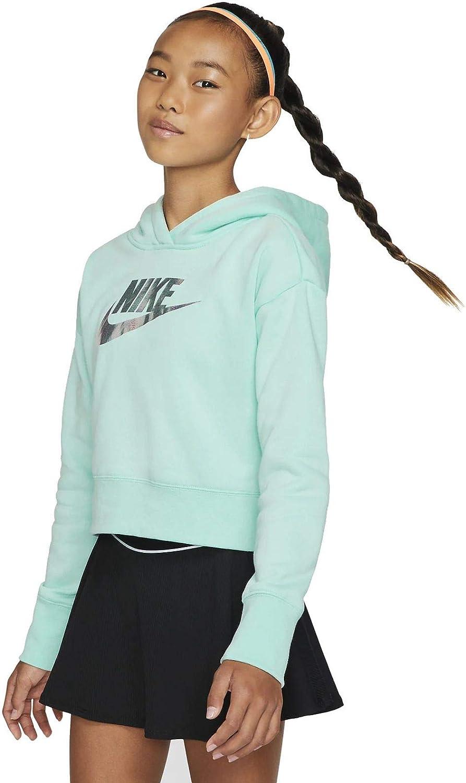 Nike Girls Ff Crop Sweatshirt