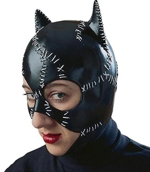 4a3415be1b Amazon.com: R12442/51 Latex Catwoman Mask: Clothing