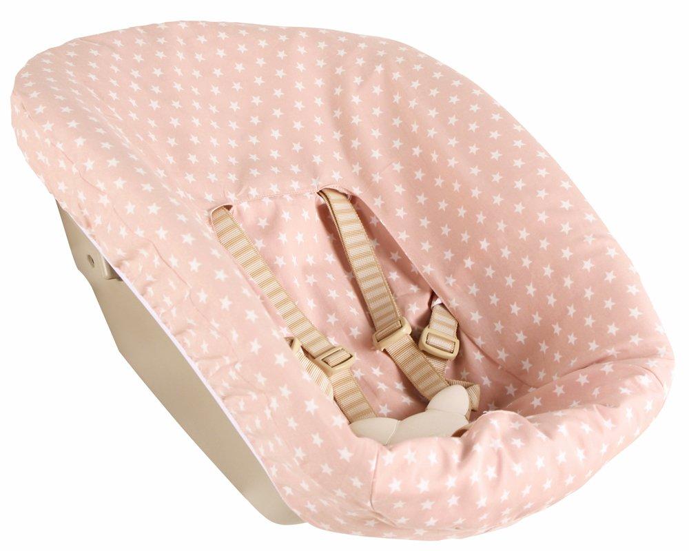 Bezug bei Ukje für Newborn set Stokke Tripp Trapp - Pink mit Sterne