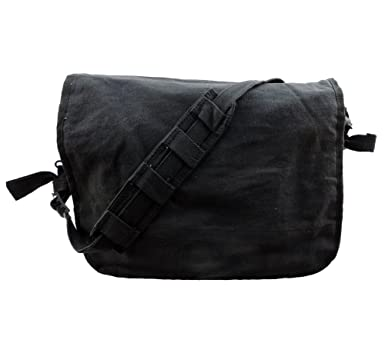 Image Unavailable. Image not available for. Color  Black Vintage Classic  Shoulder Messenger Bag 15871fae8c4