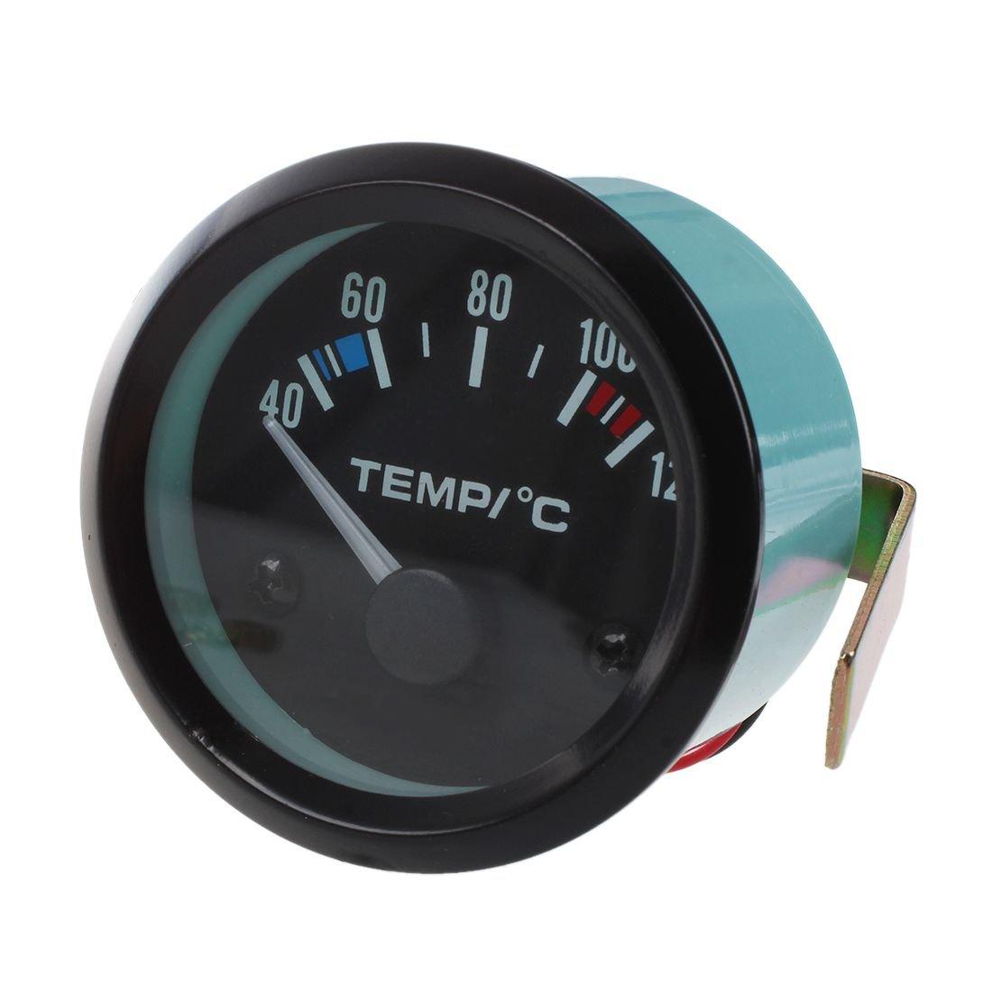Medidor de temperatura de aceite de centigrado - SODIAL(R)2' 52MM medidor de LED de temperatura de aceite de coche 60883A1