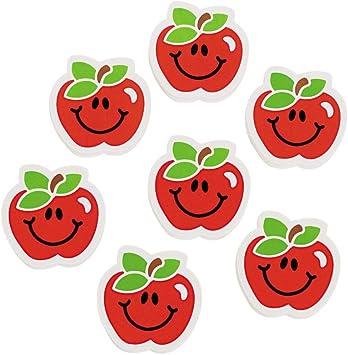 Gomas de borrar de manzana (juego de 24 unidades): Amazon.es: Juguetes y juegos