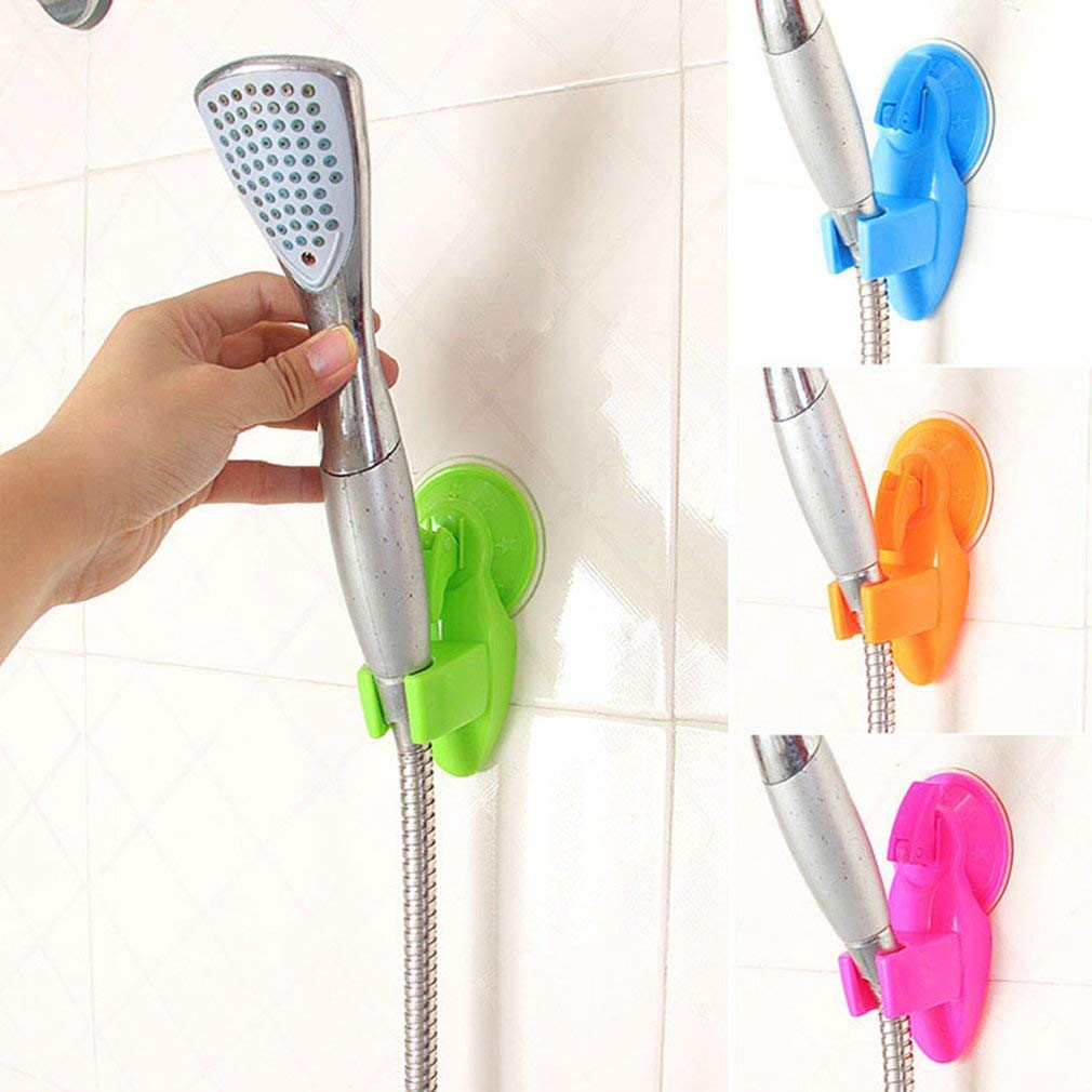 Tcplyn Premium Quality Strong Suction Cup Shower Fixing Base Shower Head Holder Bathroom Accessories Garden Home Kitchen