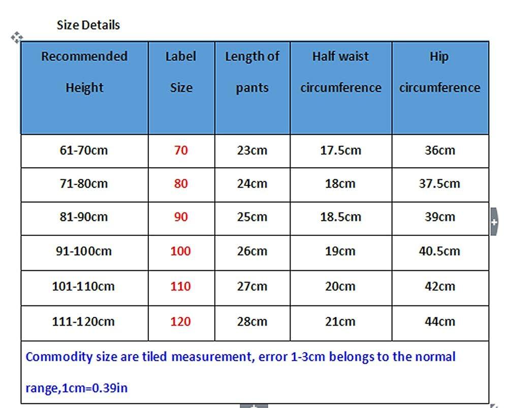Deyou Pantalones cortos de pañal para bebés Pantalones cortos de pañal para niñas: Amazon.es: Ropa y accesorios