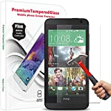 PThink 2.5D Round Edge 0.3mm Ultra-thin Tempered Glass Screen Protector for HTC Desire 610 with 9H Hardness/Anti-scratch/Fingerprint resistant (HTC Desire 610)