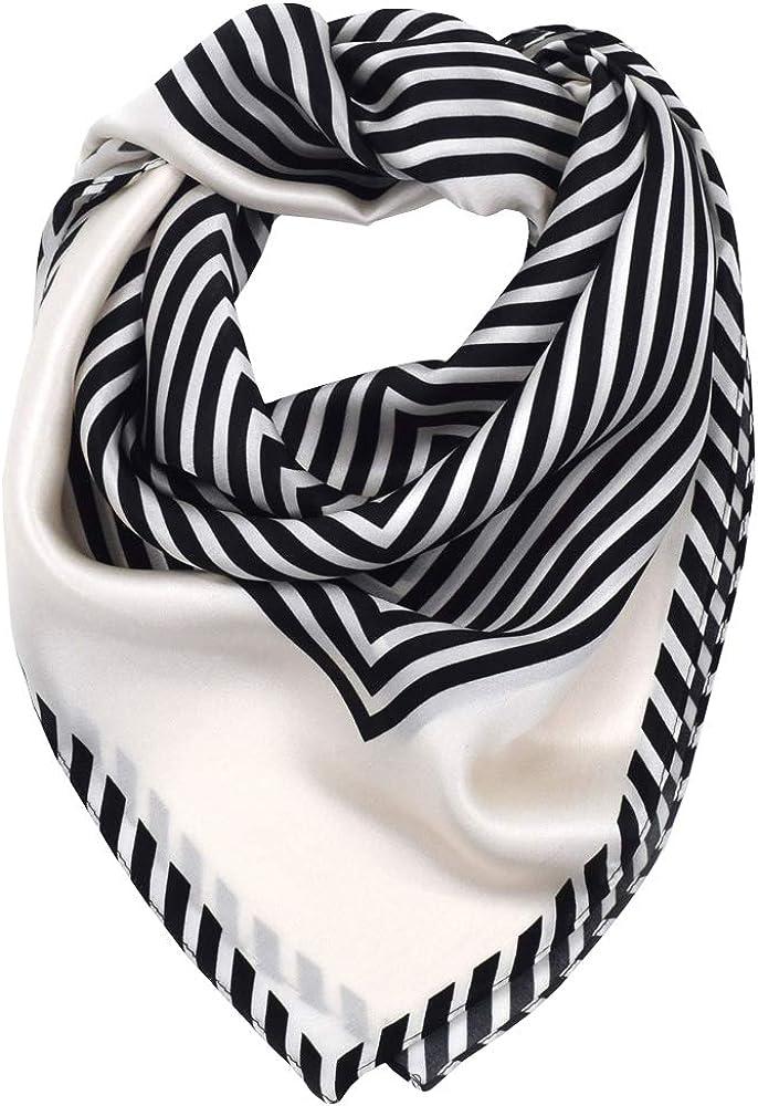 LD Pa/ñuelo Cuello Mujer Seda de Hielo Fular Bufanda Estola Chal Ideal for Playa o Regalo 185cm*110cm