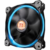 Thermaltake Riing 14 - 256Color LED 3Pack LEDリングを装着した水冷ラジエーター向けPCケースファン FN973 CL-F043-PL14SW-B