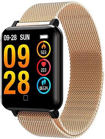 Deportivos Hombre Smart Fitness Watch Hombre Business Digital Reloj Digital Reloj Inteligente Reloj Reloj Fitness ...